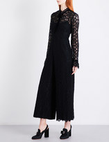 Temperley London Eclipse wide-leg lace jumpsuit