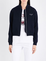Markus Lupfer Sequin-embellished Planet jersey jacket