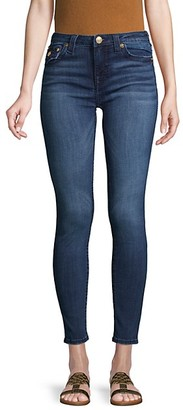 True Religion Halle Big T Flap-Pocket Super Skinny Jeans