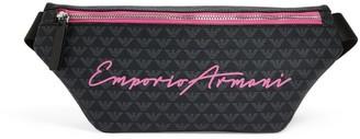 Emporio Armani Kids Eagle Print Belt Bag