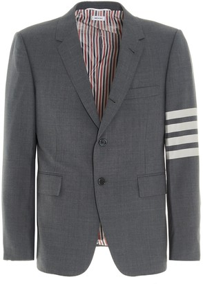 Thom Browne 4-Bar Tailored Blazer