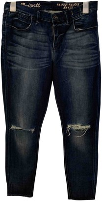 Madewell Blue Cotton Jeans for Women
