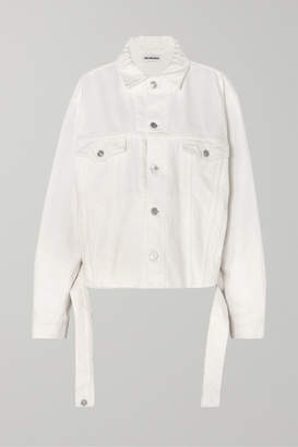 Balenciaga Oversized Denim Jacket - White