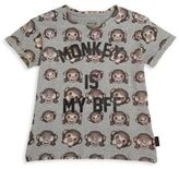 Eleven Paris Little Girl's & Girl's Monkey Emoji Tee