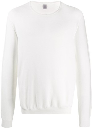 Eleventy solid-color long-sleeve T-shirt