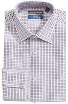 Geoffrey Beene Wrinkle-Free Plaid Dress Shirt