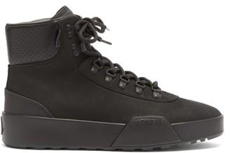 Moncler Promyx High Trek-sole Suede Boots - Black