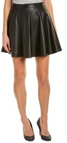 Yumi Kim Cara Vegan Leather A-line Skirt.