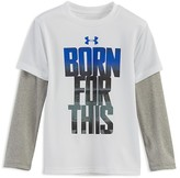 Under Armour Boys' Born For This Layered Look Tee - Sizes 4-7