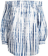 Polo Ralph Lauren Shibori Off-The-Shoulder Top