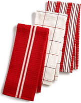 Martha Stewart Collection 3-Pc. Terry Cloth Kitchen Towels, Created for Macy's