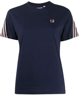 Fila Rosalia stripe detail T-shirt