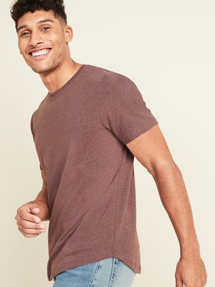 Old Navy Soft-Washed Crew-Neck Curved-Hem Tee for Men