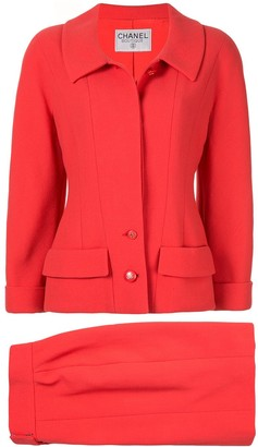 Chanel Pre Owned Setup two-piece skirt suit