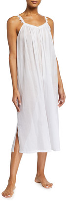 Celestine Celestina Sleeveless Swiss Cotton Nightgown