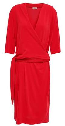 By Malene Birger Qizi Wrap-effect Stretch-crepe Dress