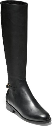 Cole Haan Isabell Stretch Back Riding Boot