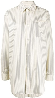 Han Kjobenhavn Oversized Striped Shirt