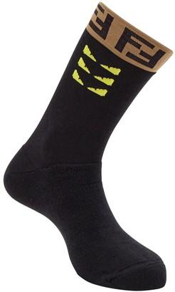 Fendi Monogram Detail Socks