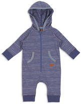 7 For All Mankind Boys' Hooded Striped Coverall - Baby