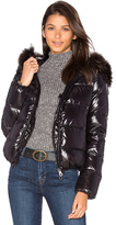 Duvetica Adhara Jacket with Raccoon Fur