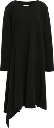 MM6 MAISON MARGIELA Asymmetric Draped Stretch-crepe Dress