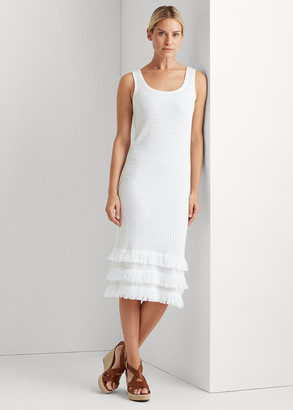 Ralph Lauren Pointelle Cotton Dress