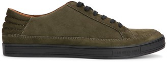 Kenneth Cole Brand Stand Suede Sneakers