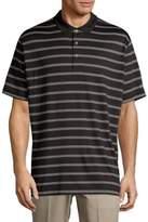 Callaway Short-Sleeve Stripe Polo
