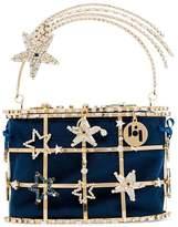 Rosantica Holli crystal-embellished bracelet bag