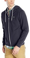 Lacoste Men's Classic Cotton Fleece Hooded Sweatshirt