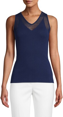 Anne Klein Sleeveless Knit Top