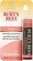 Burt's Bees 100% natural tinted lip balm, zinnia blister box, 4.25g