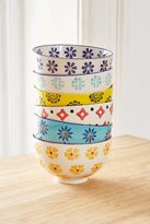 Urban Outfitters Mix + Match Printed Bowls Set