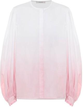 Schumacher Dorothee Stretch-cotton poplin blouse