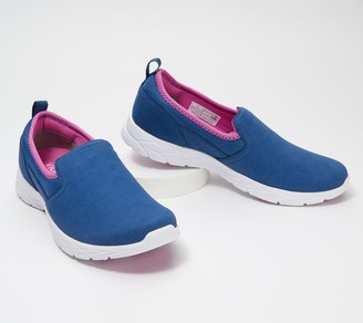 Vionic Microsuede Slip-On Sneakers - Eva