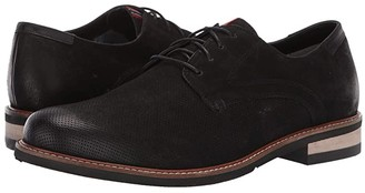 Dr. Scholl's Weekly - Original Collection (Black Leather Perf) Men's Shoes
