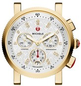 Michele Women's 'Sport Sail' Chronograph Watch Case, 36Mm