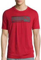 Puma Sueded Short-Sleeve Graphic Tee