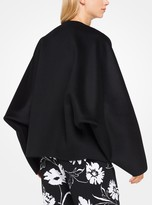 Michael Kors Double-Face Cashgora Melton Jacket