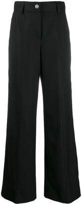 Chanel Pre-Owned 2007 high rise wide-legged trousers