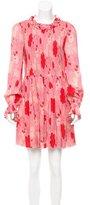 Jill Stuart Scarlet Printed Dress w/ Tags