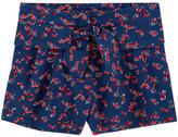 Lili Gaufrette Flowing printed shorts