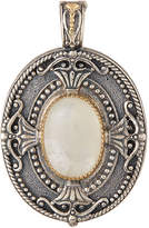 Konstantino Erato Oval Labradorite Doublet Locket Pendant Enhancer