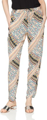 BCBGeneration Women's Patched Drawstring Pant