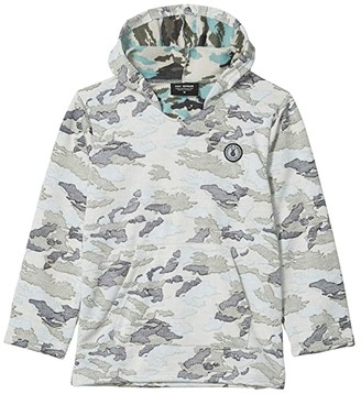 Tiny Whales Good Vibes Army Sweatshirt (Toddler/Little Kids/Big Kids) (Faded Camo) Boy's Clothing