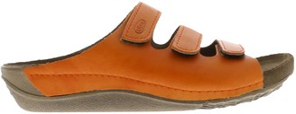 Wolky Leather Slide Sandals - Nomad
