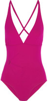 Eres Solaire Orion Cutout Swimsuit - Magenta