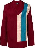 Calvin Klein oversized chunky stripe sweater