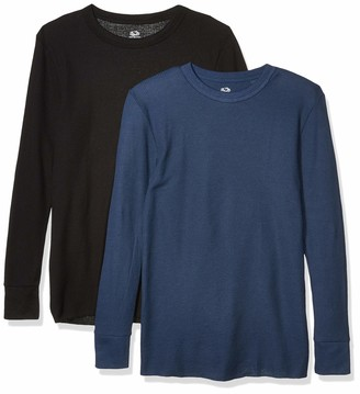 Fruit of the Loom Men's Classic Midweight Waffle Thermal Top (2 Pack)